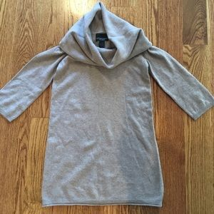 XS 100% Cashmere Cowl Neck Tam Sweater
